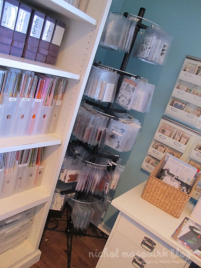 Organized Craft Storage