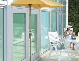 Outdoor Accessories-half umbrella. Great idea!