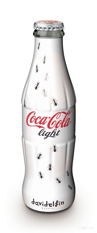 ants bottle desing by davidelfin (madrid)for coca cola