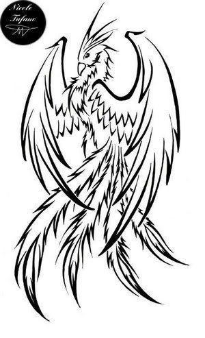 """Tatouage phoenix – Page 29 – Tattoocompris"" – tattoo vorlagen"