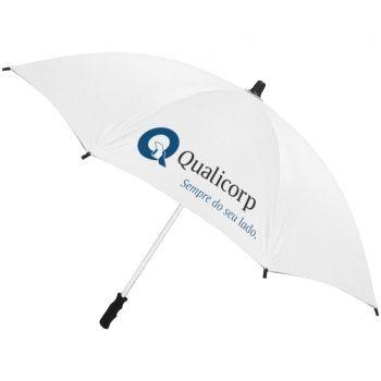 Brindes Personalizados - Guarda-chuva personalizado de 1,40 metros