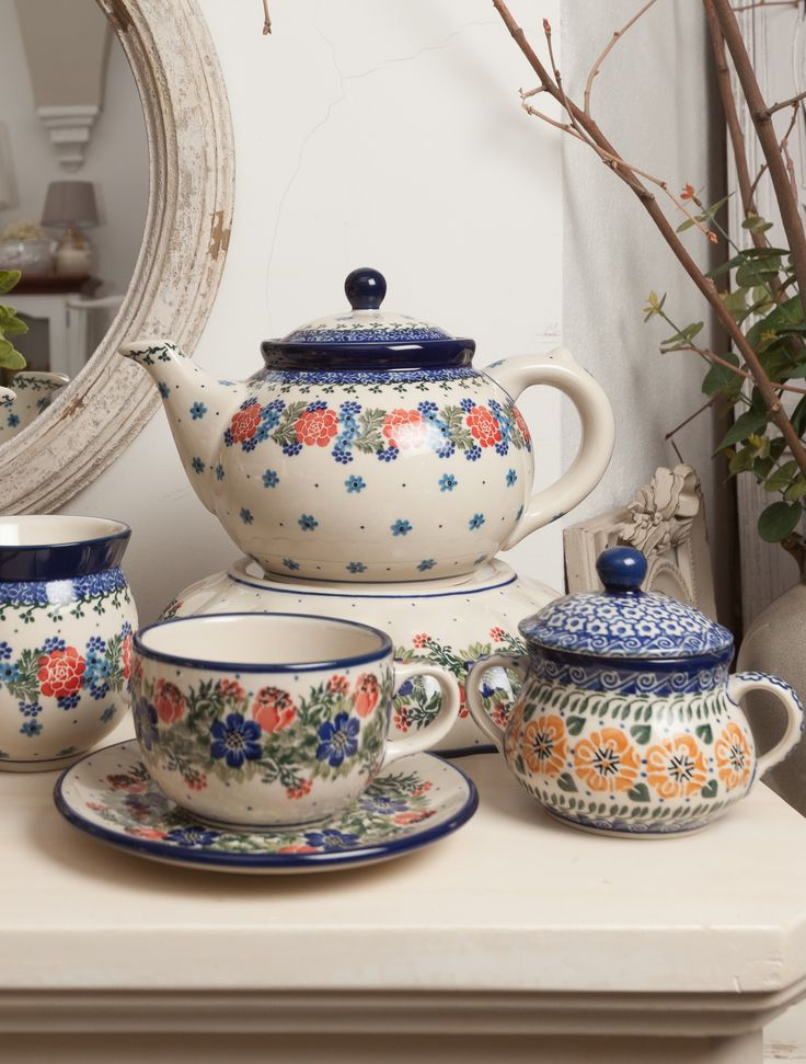 Definiton of elegance : Hand painted beauties for each tea-lover!