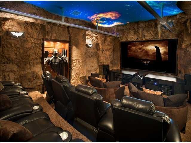 log home movie theaters | Flintstones : Malibu, CA -- $3,250,000. View the entire Flintstone ...