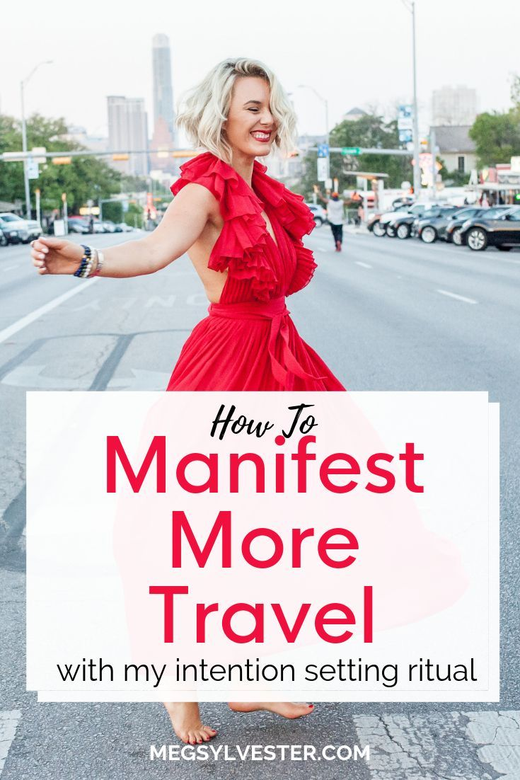 I'm sharing my intention setting ritual that helped me to manifest more travel t…