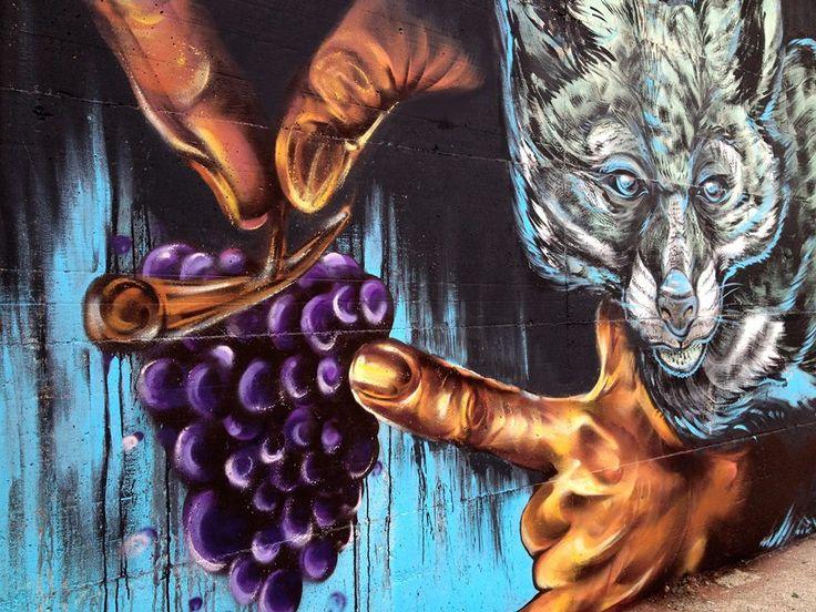 """""""La volpe e l'uva"""" KAMI + SENSO, 2015"""