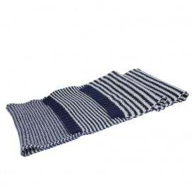 Barbour Unisex Ashby Scarf Navy/Pearl