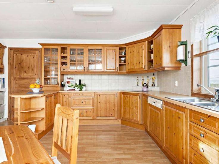 Kjøkken er demontert og klar for henting.