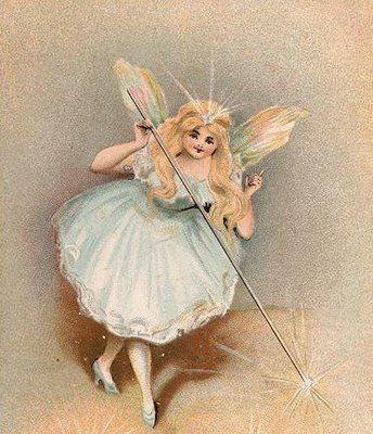 Polkadot Fairies: Beautiful vintage fairy prints