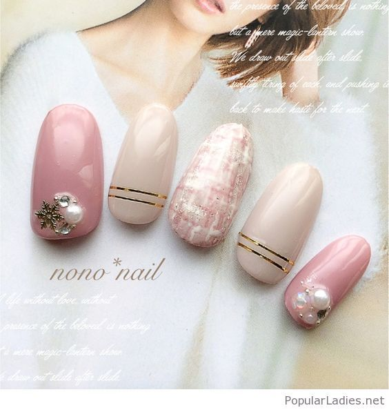 pink-and-white-nails-with-some-lovely-details