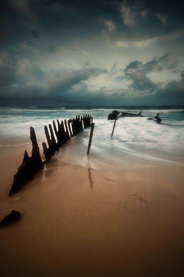 Dickie Beach, Queensland, Australia.