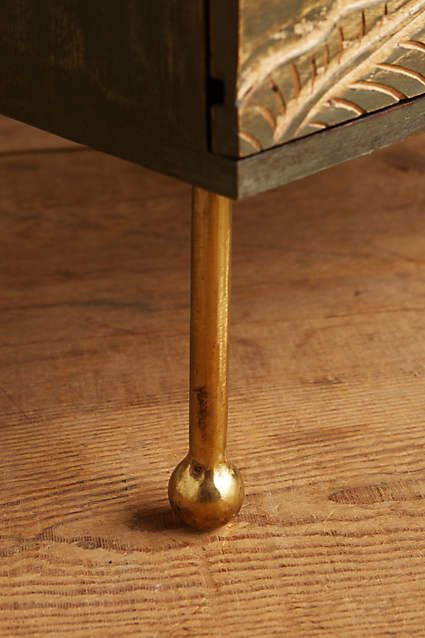 Liri Leaf Nightstand - anthropologie.com