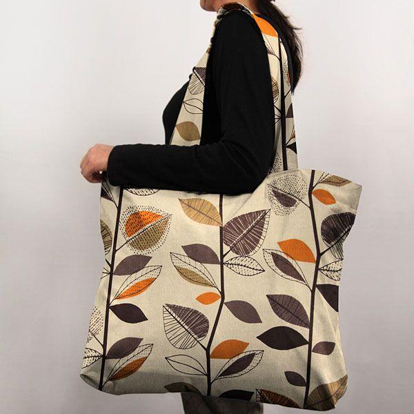 Autumn Leaves 6 - Tkaniny dekoracyjne retrofavorable buying at our shop