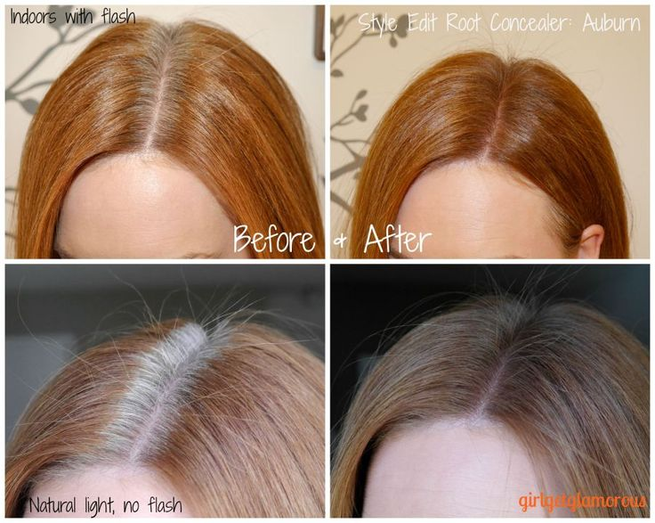 Style Edit Root Touch Up Spray: Auburn/Red // Review + Demo