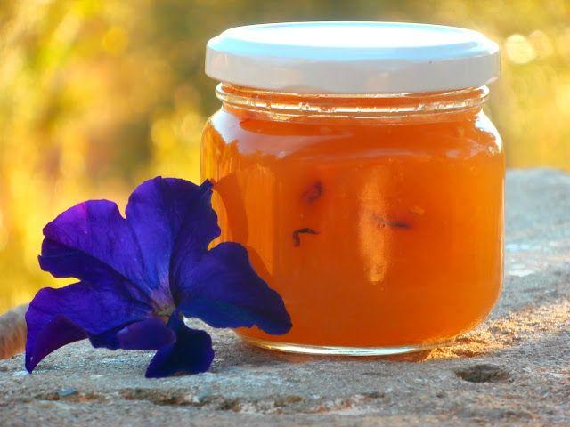 Las recetillas de Isa: Mermelada de flores
