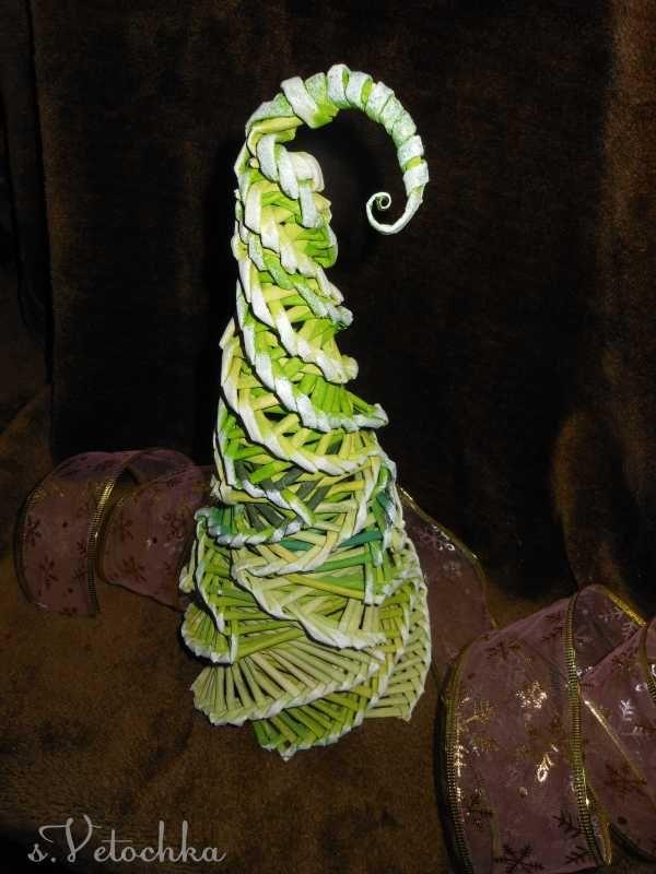 Тема: Мастерская Веточки (50/200) - Плетение из газет и другие рукоделия - Плетение из газет