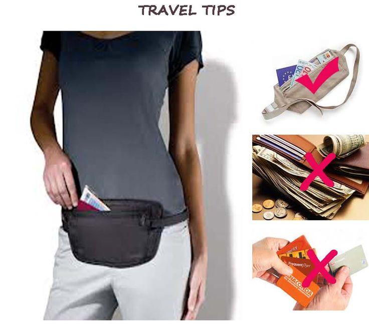 Travel Tips - Cara aman menyimpan uang saat traveling