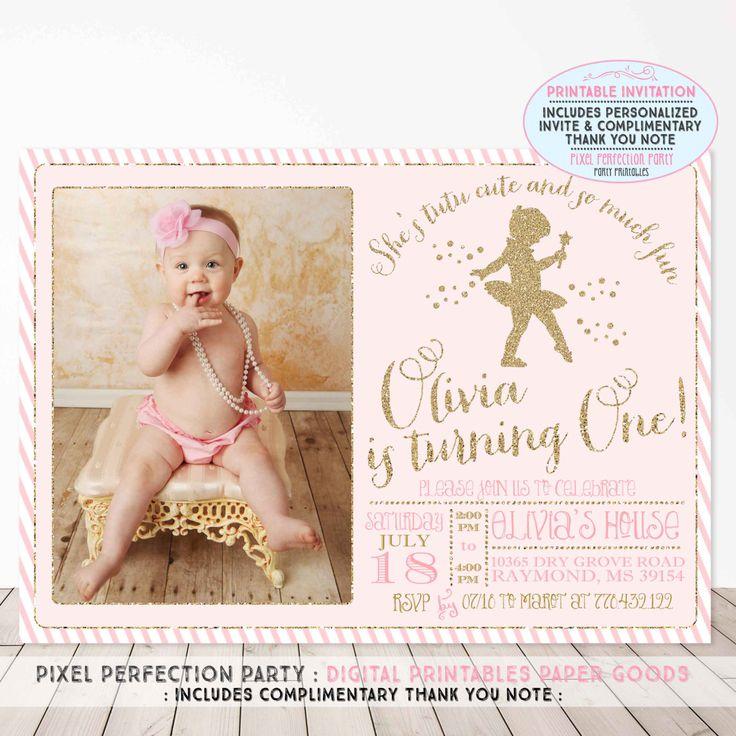 Best 25 Tutu invitations ideas on Pinterest Ballerina party