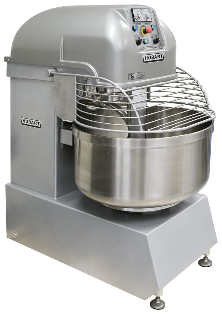 Hobart spiral mixers designed specifically for the unique
