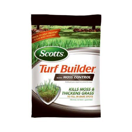 Scotts Lawns 40210 Turf Builder With Moss Control, 23-0-3, 10,000-Sq. Ft. Coverage, Multicolor