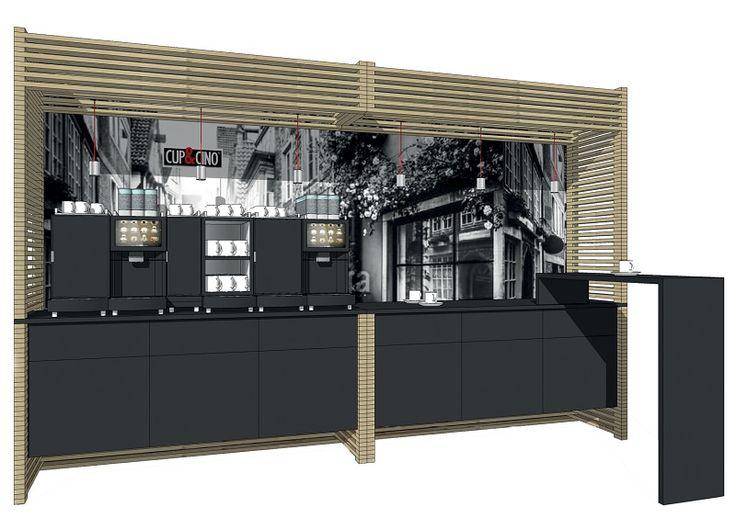 Unser Coffee-Shop Modesta 4 setzt ihren Kaffee im Büro oder Betrieb richtig in Szene!