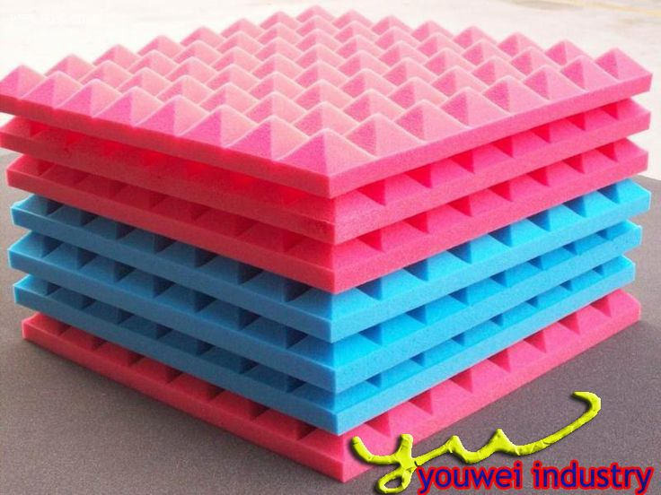 Pyramid melamine acoustic foam for sound proofing buy Soundproof a bedroom wall noisy neighbours