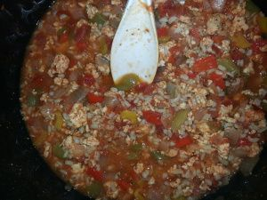 THM (E) Stuffed Pepper Soup