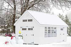 Garden storage sheds Direct from the Amish