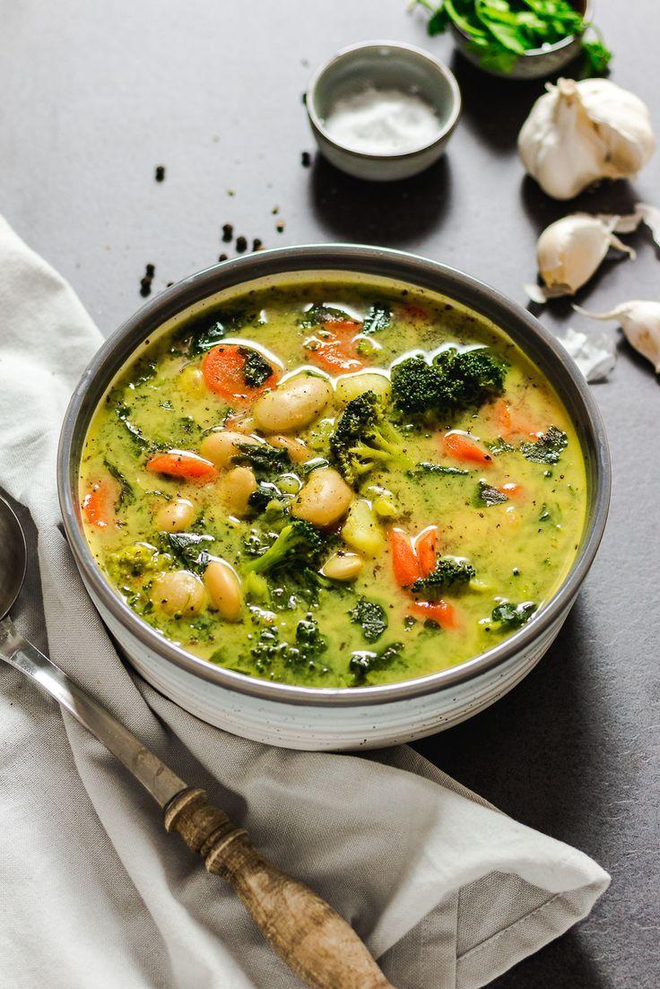 Diese gesunde, füllende Bohnensuppe mit einer …   – Essen Trinken