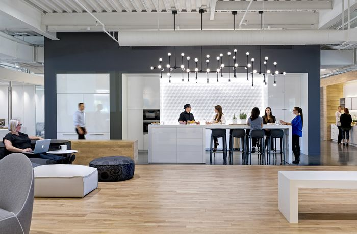 Pivot Interiors – Santa Clara Showroom and Office