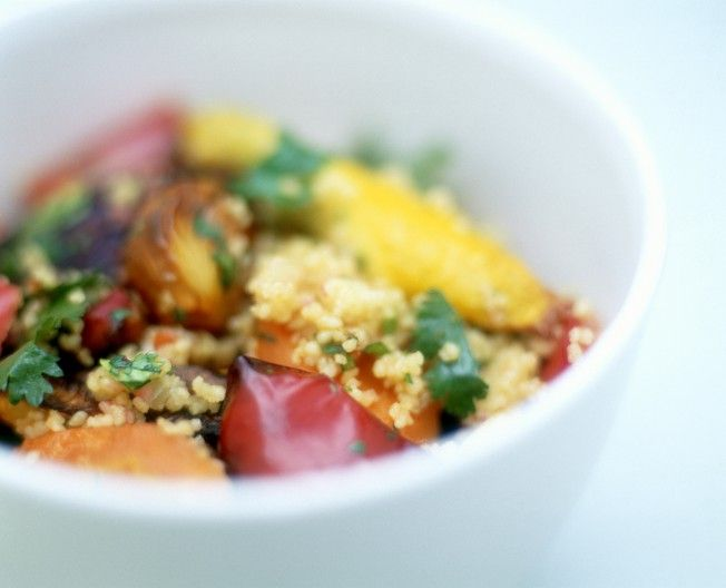 Roasted Mediterranean Vegetables + Quinoa