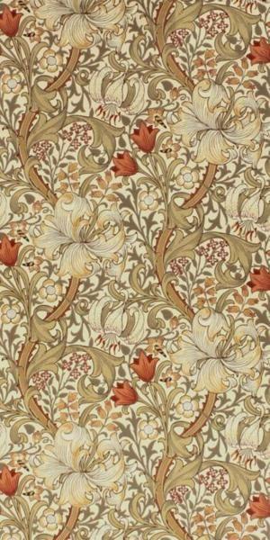 Designed by John Henry Dearle, Golden Lily 1899