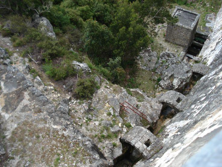 De Villiers Dam wall.