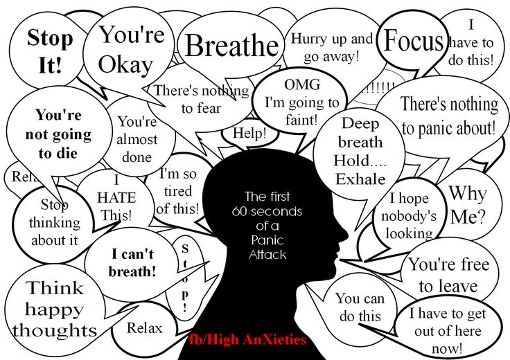 Brain Freeze-Thoughts During A Panic Attack- When the mind will not release the antidote.