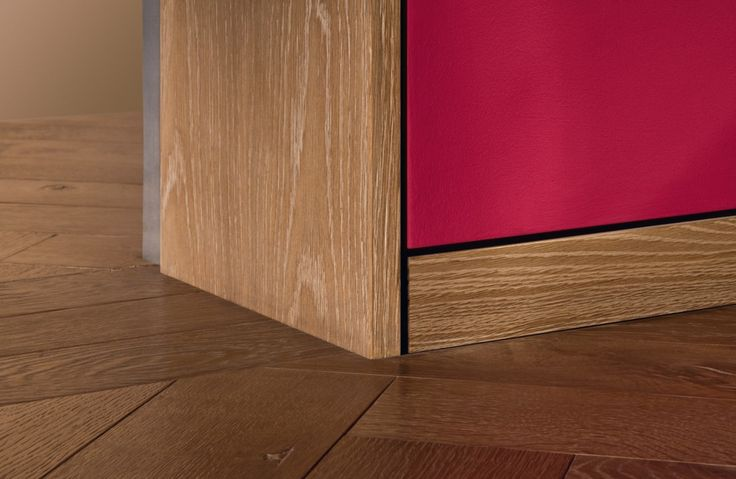 Flush skirting system for Schotten & Hansen.