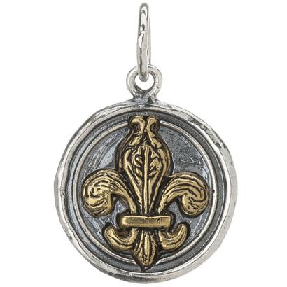 waxing poetic charm- I love fleur de lis for Scouts. and my two, close to three, Eagle Scouts!