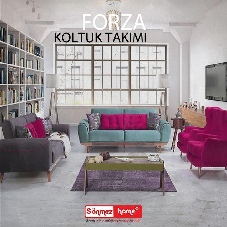 Forza Modern Koltuk Takımı ile konforun ve şıklığın tadını çıkartın! #Modern #Furniture #Mobilya #Forza #Koltuk #Takımı #Sönmez #Home