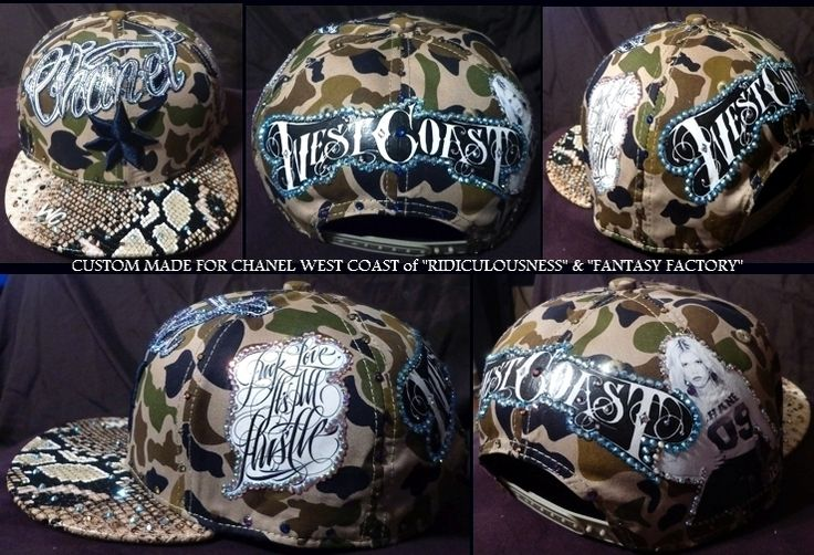 CUSTOM MADE FOR CHANEL WEST COAST FROM RIDICULOUSNESS AND FANTASY FACTORY.