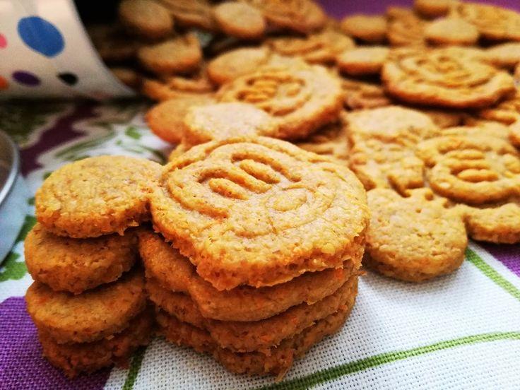 Detské mrkvové pečiatkové sušienky