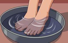 Ne gaspillez pas votre argent en pédicure: à peine deux ingrédients de votre cuisine peuvent faire des miracles à vos pieds