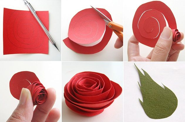 Как сделать цветы из бумаги: материалы, способы и схемы