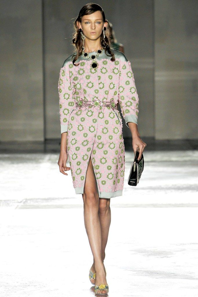 Runway looks for less: prada spring rtw