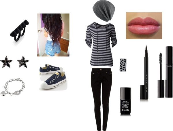 """""""teen swag / summer"""" by nana-lovelygirl ❤ liked on Polyvore. Like the hat."""