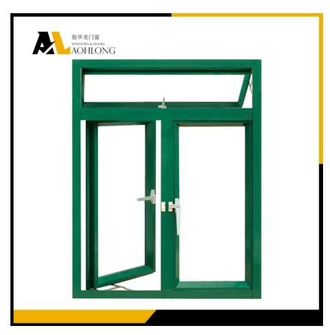 Due to design of A thermal broken aluminum profile and hollow galss, these double pane thermal broken aluminium windows  have  excellent  function of  energy saving, sound insulation, noise, dust and waterproof .