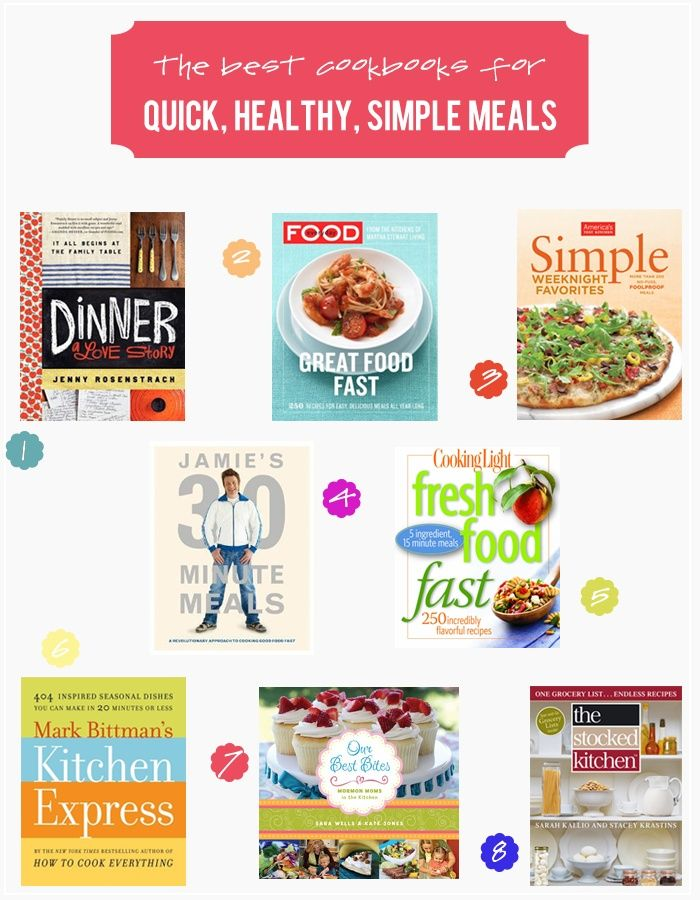 79 best healthy living tips images on pinterest healthy living best cookbooks for quick simple healthy meals healthy meals forumfinder Gallery