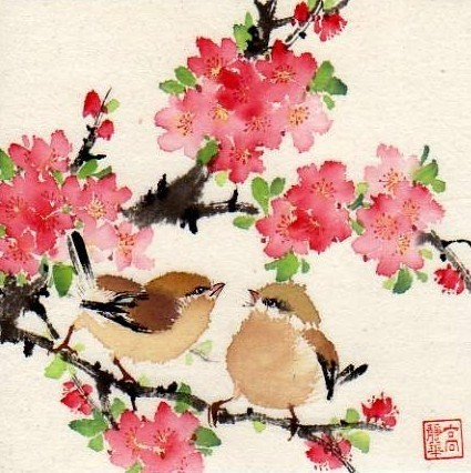 DPW Fine Art Friendly Auctions - Music of the Morning by Jinghua Gao Dalia