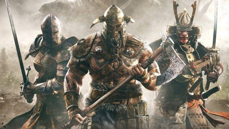 For Honor Viking Wallpaper: For Honor Knight Viking And Samurai Warrior Wallpaper