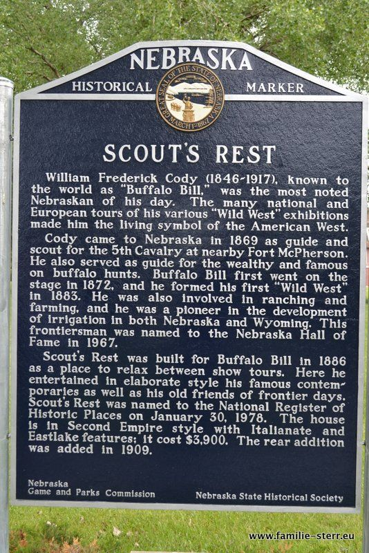 Scout's Rest, North Platte, Nebraska