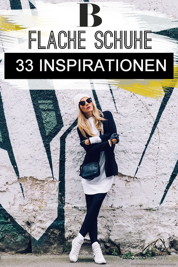 33 Looks für alle, die keine hohen Schuhe mögen | Flache