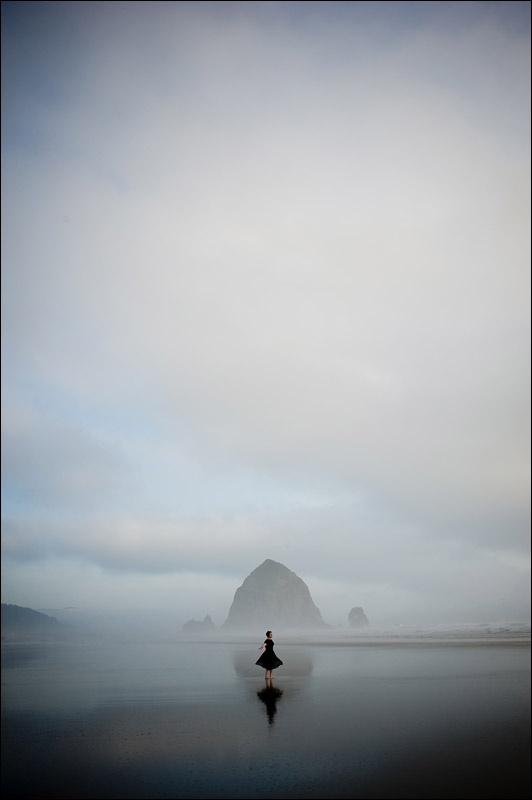 Haystack rock, Cannon Beach Oregon - zack arias