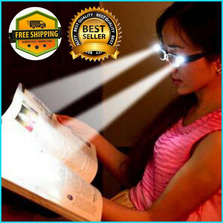 LED Reading Glasses Men Women Adjustable Magneic Health